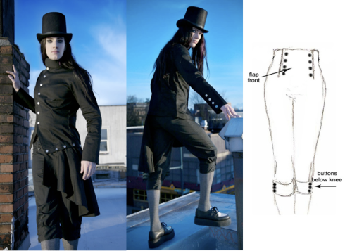 Retroscope Fashions: Dandy Breeches